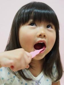 子供歯みがき